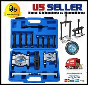 14pc Bearing Separator Puller Set 2 And 3 Splitters Remover And Bearing Kit My