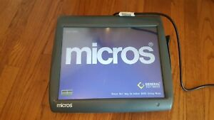 Micros Workstation 5 System Unit 400814 001 Touch Screen Windows Embedded Ce