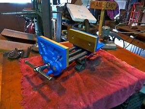 Vintage Apex 9 Inch Woodworking Vise W Quick Release