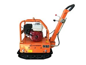 Reversible Honda Plate Compactor Packer Tamper Commercial Grade Free Shipping
