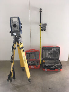 Sokkia Sx 105t 5 Robotic Total Station With Rc pr5 Sokkia Shc2500 Datacollector
