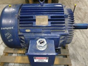 Electric Motor 100hp 900rpm