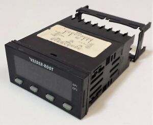 Veeder root S628 50000 Digital Panel Meter relay Dc Volts amps