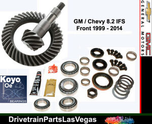 Gm Chevy 8 25 Ifs Front Ring Pinion Gear Set Master Kit 1999 2014 Motive 3 73