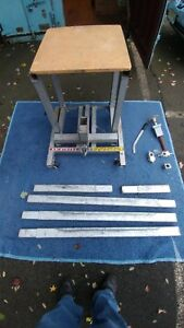 A 1 Hi jack Vermette Equipment Jack Includes The Optional 24 Lift Extensions