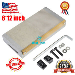Permanent Magnetic Chuck For Grinding Machine 6 12 Inch W Handle Usa
