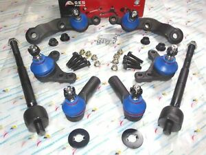 2wd Fits 95 04 Tacoma Rwd 8pcs Front Lower Upper Ball Joints Tie Rod Ends
