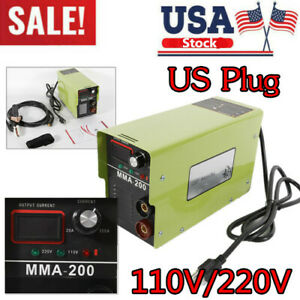 110v Mma 200 Portable Mma Arc Welder Igbt Welding Machine Soldering Inverter