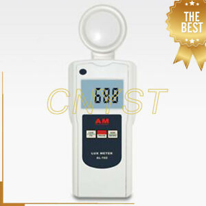 Al 162v Digital 50000 Luminance Lux Meter Portable Luminometer Brightness Tester