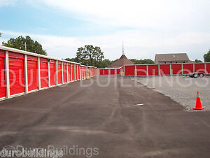 Duro Steel Mini Self Storage 40x120x8 5 Metal Buildings Prefab Structures Direct