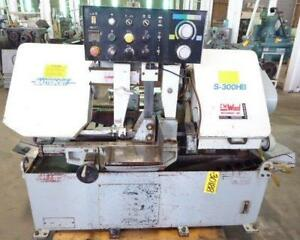 Master Cut Automatic Feed Horizontal Band Saw S 300hb 10 X 12 30188