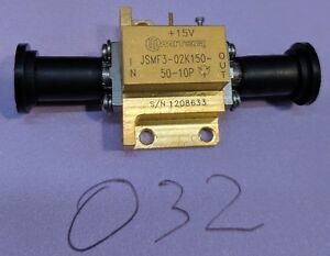 Miteq Jsmf3 02k150 50 10p Amplifier 19 Ghz Lna Tested Guaranteed a32