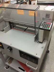 Triumph Ideal 4850 95 Ep Automatic Paper Cutter Working W blades