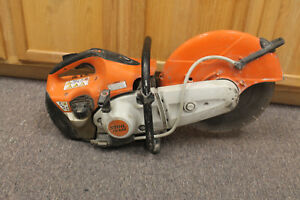 Stihl Ts420 Gas Powered 14 Concrete Cut Off Saw Pre owned Runs Great