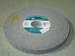 3m Scotchbrite Exl Deburring Wheel 6x1 2x1 8a medium 13616