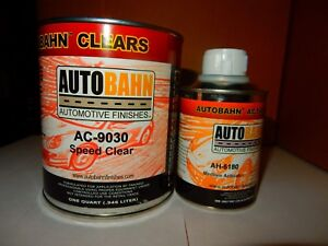 Ac9030 4 Speed Clear Fast 1 Quart Kit The Maker Of All Kandy Wet Wet Clear Coat