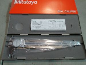 Mitutoyo 505 746 Dial Caliper 0 12 Old Part Number 505 677 New unused