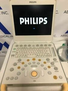 Philips Cx50 Portable Ultrasound Machine With C5 1 Ultrasound Probe Transducer