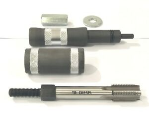 6 0l 6 4l Ford Powerstroke Fuel Injector Sleeve Cup Puller And Installer Set