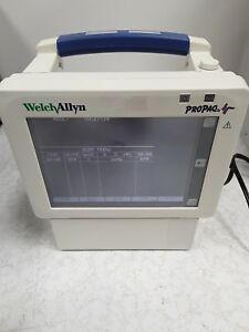 Welch Allyn Propaq Cs Model 242 Patient Monitor Power Supply Cracked