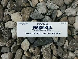 3 X Boxes Thick Articulating Paper Super Sensitive Holg Mark rite 140 nbtk050