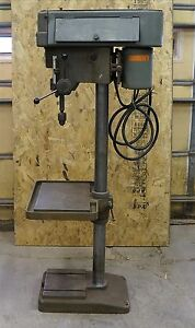 Clausing 15 Drill Press 1763 3 4 Hp 3 Ph