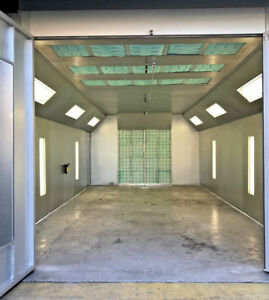 New Semi down Draft Paint Spray Booth