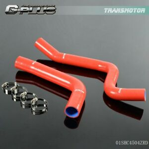 Silicone Radiator Hose Fit For Chevy Camaro Firebird 1967 1969 1968 Red