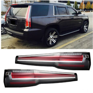 LED Tail Lights for Chevrolet Suburban Tahoe 2015 2019 Rear Light Escalade Style $399.99