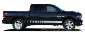 09 2018 Dodge Ram Lower Rocker Panel Striping Decals Stripes 3m Vinyl Graphics
