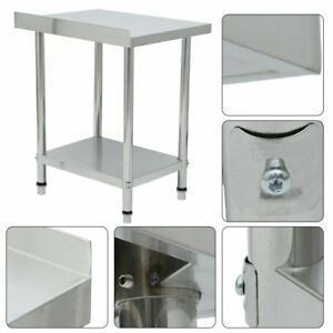 24 X 30 Stainless Steel Work Prep Table Commercial Kitchen Restaurant New Th
