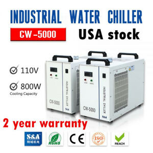 Us s a Cw 5000du Industrial Water Chiller For 3w 5w Ultraviolet Laser Instrument