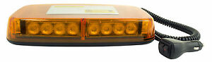 blazer Led Strobe Light Bar Magnetic Base Emergency Amber Tow Snow Plow ul135