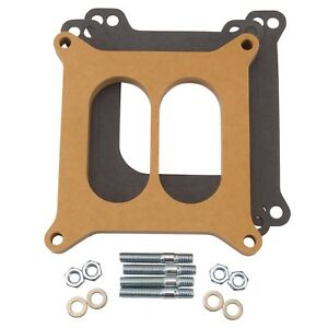 Edelbrock 8725 4 barrel Carburetor Spacers