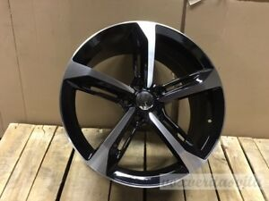 17 Rs7 Blade Style Black Wheels Rims Fits Vw Volkswagenjetta Gli Se Mk5 Mk6