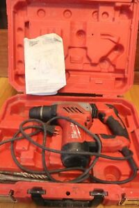 Milwaukee 5268 21 1 1 8 Sds Plus Rotary Hammer Drill With Case