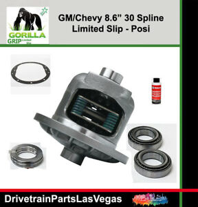 Gm Chevy Posi Limited Slip 8 6 10 Bolt Fits 2000 To 2008 Install Kit 1 2 Ton Xl3
