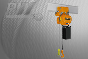 Prowinch Electric Chain Hoist Power Trolley 2 200 Lbs 19 Ft G100 Chain
