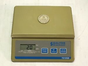Salter Brecknell 7010sb Postage parcel Scale Battery Operated