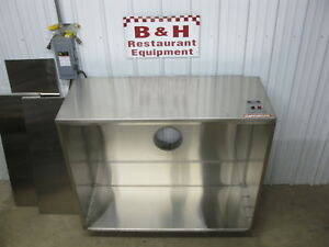 Captiveaire 60 X 48 Kitchen Stainless Condensate Exhaust Hood 4824 Vhb