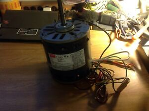 Dayton Blower Motor Model 3lu87j 3 4 Hp 1075 4 speed Reversible