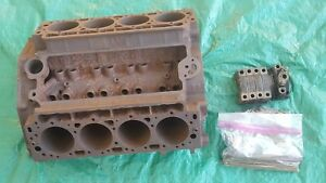Oem 1959 1962 Cadillac 390 Engine Block Core W Pistons Rods Hardware Mag Ok