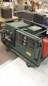 Mep 018a 10kw 120 240v Gasoline Us Army Generator Genset As Is Fast Sale