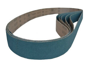 Sanding Belts 2 X 48 Zirconia Cloth Sander Belts 6 Pack 24 Grit