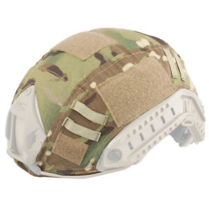 EMERSON Airsoft Military Tactical Helmet Cover For Fast Helmet  Multicam