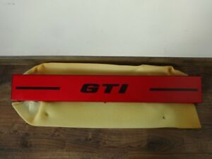 Oem Vw Gti Golf Mk1 Ls Gls Rabbit Oettinger Abt Red Tail Lights Panel Heckblende