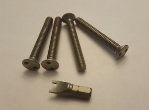 Security Screws For Centerline Wheels Center Cap 2 With Key Two Wheels