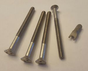 Security Screws For Centerline Wheels Center Cap 3 With Key Two Wheels