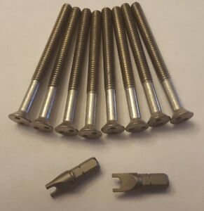 Security Screws For Centerline Wheels Center Cap 3 With Key Four Wheels