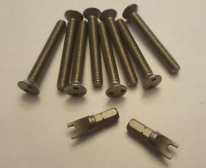 Security Screws For Centerline Wheels Center Cap 2 With Key Four Wheels